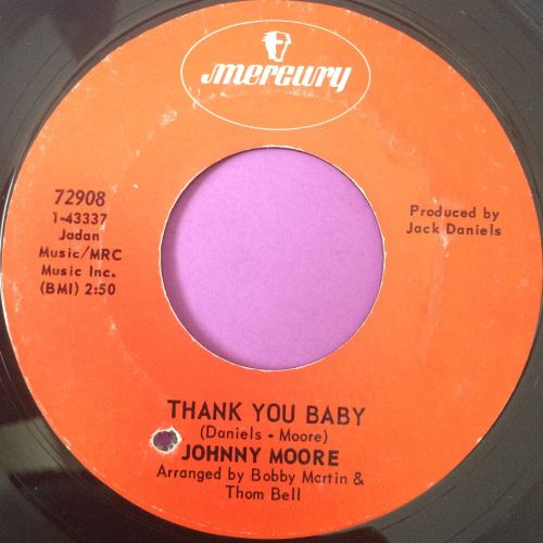 Johnny Moore-Thank you baby-Mercury E+