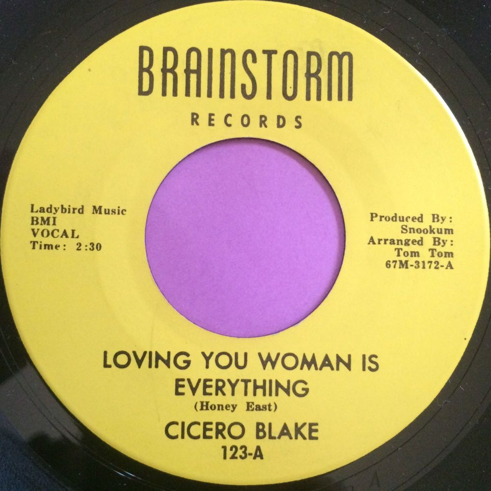 Cicero Blake-Loving you woman is everything-Brainstorm E+