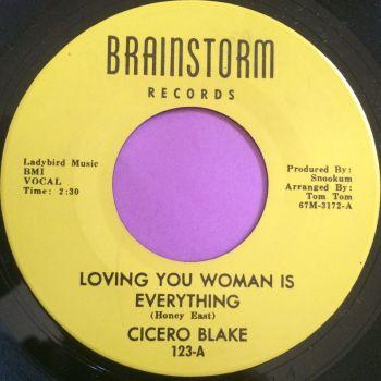 Cicero Blake-Loving you woman is everything-Brainstorm E+