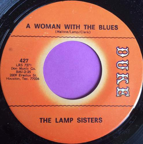 Lamp Sisters-A woman with the blues-Duke M-