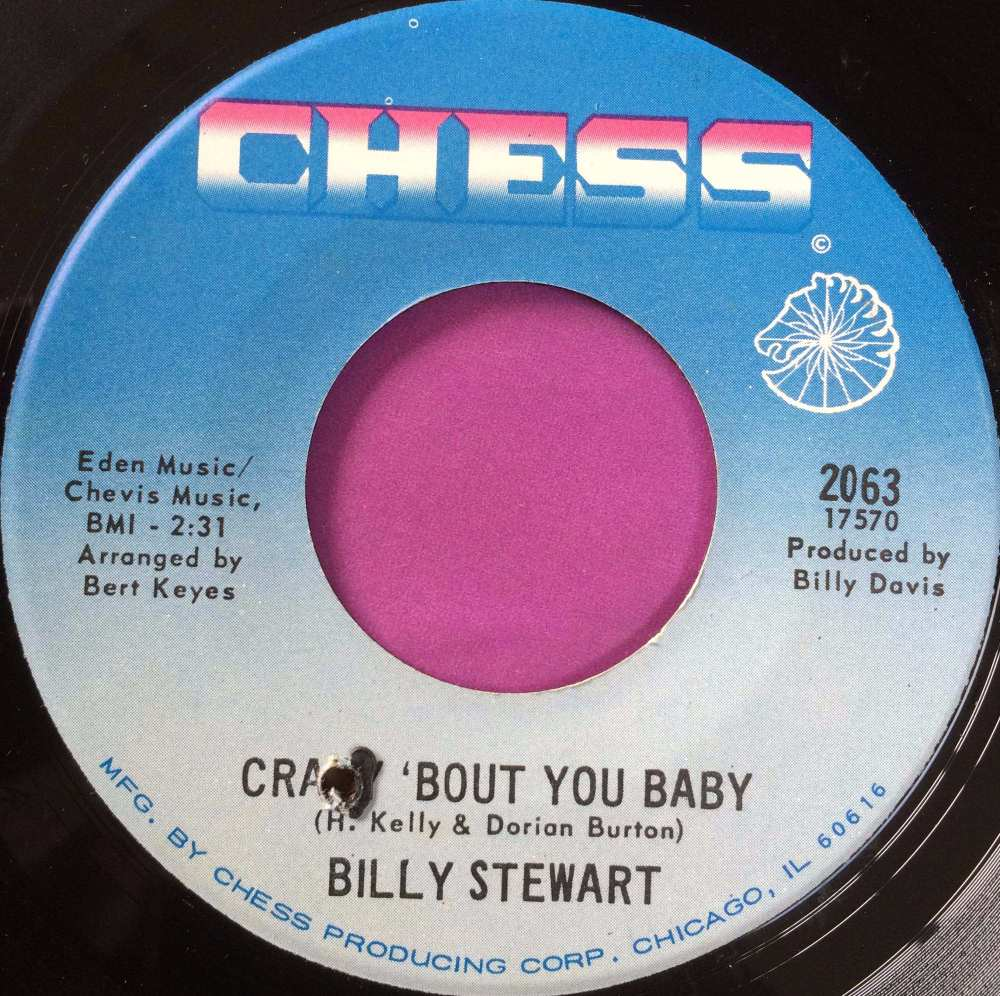 Billy Stewart-Crazy `bout you baby-Chess M-