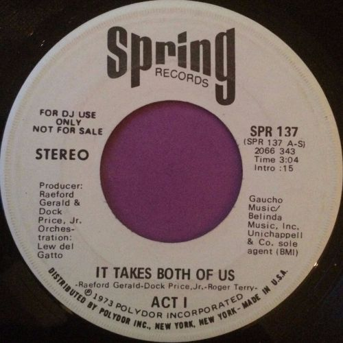Act 1-It takes both of us-Spring WD M-