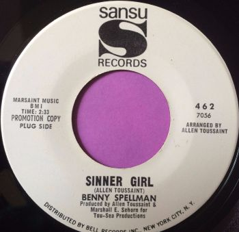 Benny Spellman-Sinner girl-Sansu WD M-