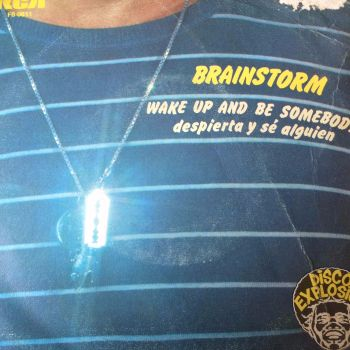 Brainstorm-Wake up and be somebody-Spanish PS RCA E+