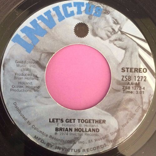 Brian Holland-Let`s get together-Invictus E+
