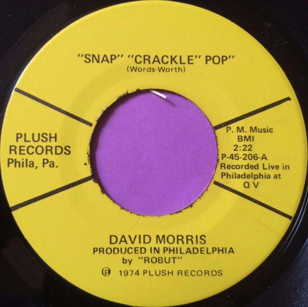 David Morris-Snap crackle pop-Plush M-