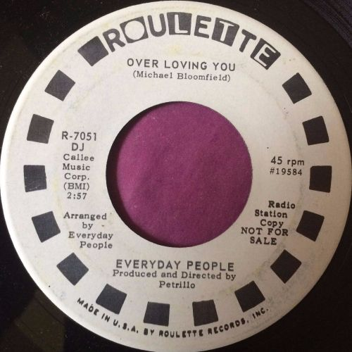 Everyday People-Over loving you-Roulette WD E+