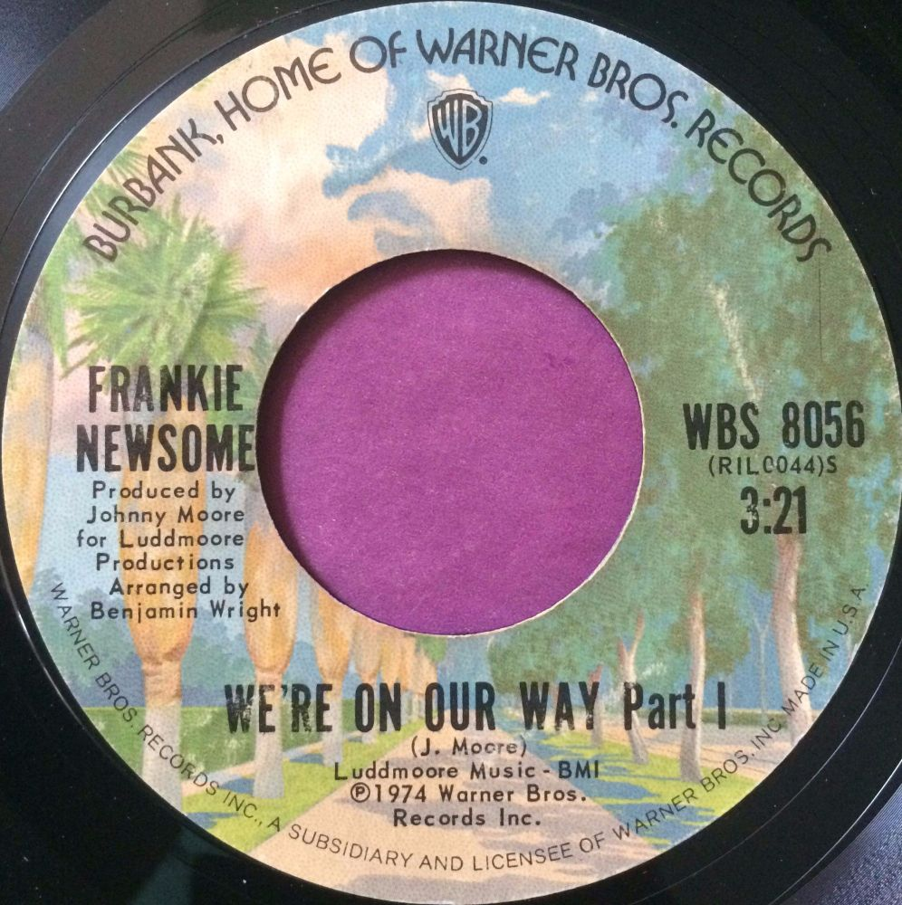Frankie Newsome-We`re on our way-WB  E+
