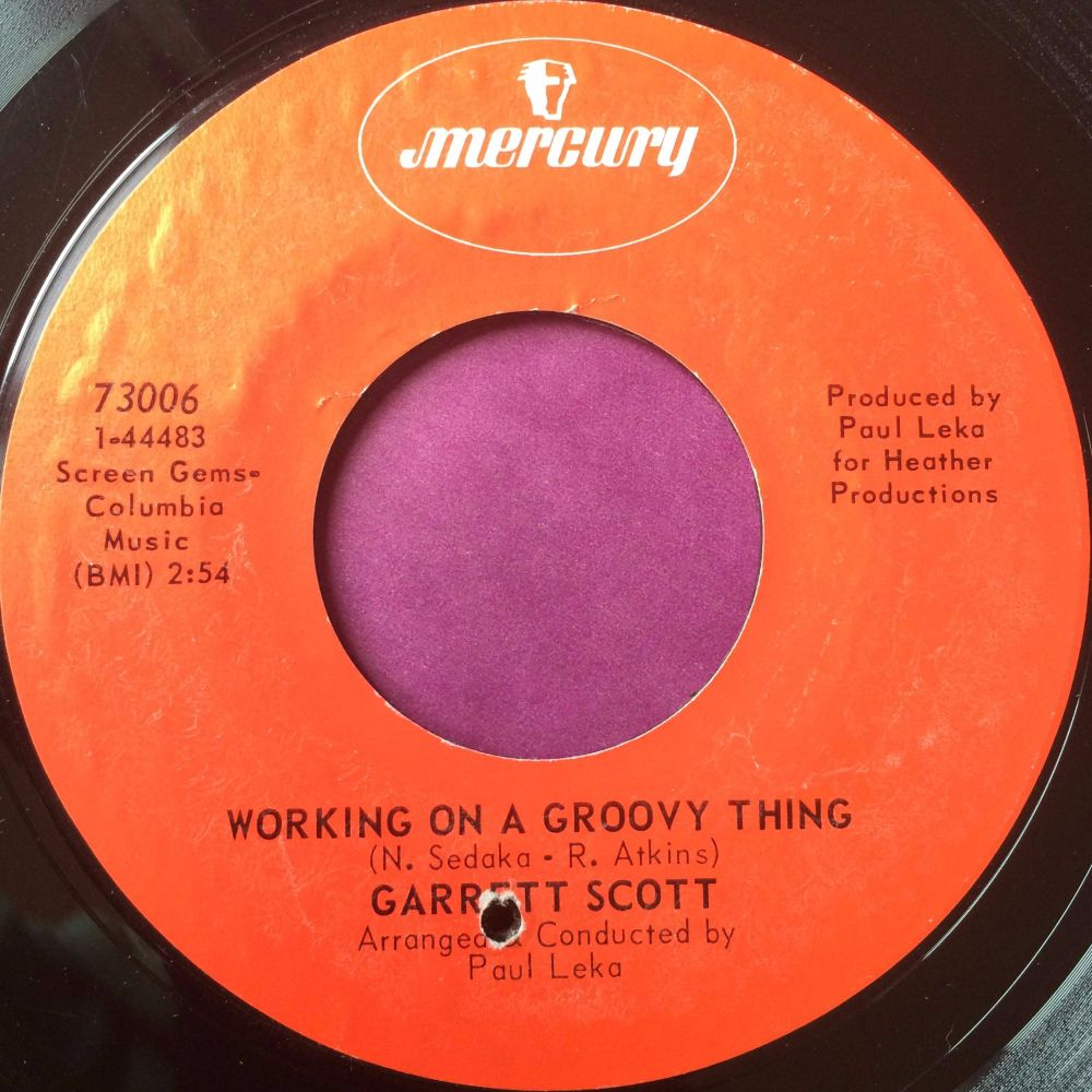 Garrett Scott-Working on a groovy thing-Mercury E
