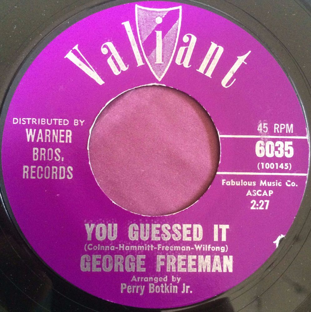 George Freeman-You guessed it-Valiant E+