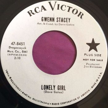 Gwenn Stacey-Lonely girl-RCA WD M-