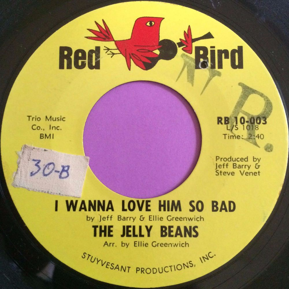 Jelly Beans-I wanna love him so bad-Red bird stkr E+