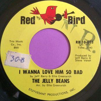 Jelly Beans-I wanna love him so bad-Red bird stkr E+