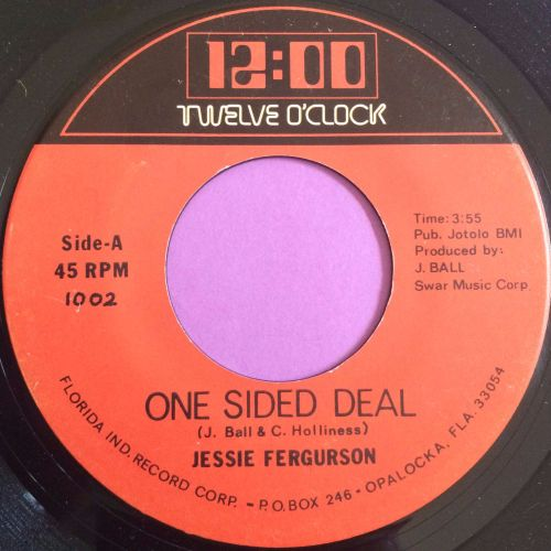 Jessie Ferguson-One sided deal-Twelve o`clock E+