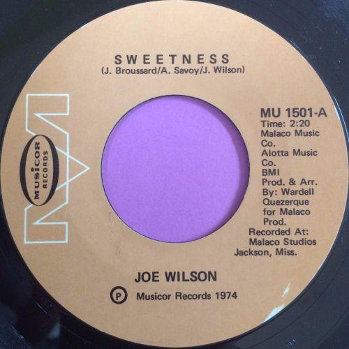 Joe Wilson-Sweetness-Musicor E+
