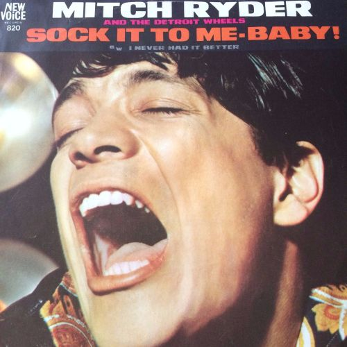 Mitch Ryder-Sock it to me baby-New Voice PS E+