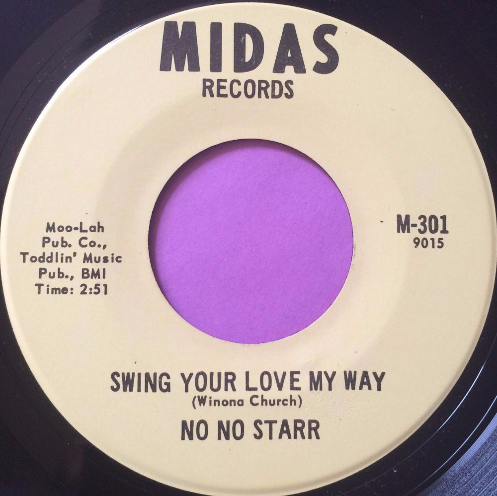 No No Starr-Swing your love my way-Midas E+