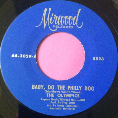 Olympics-Baby do the Philly dog-Mirwood M-
