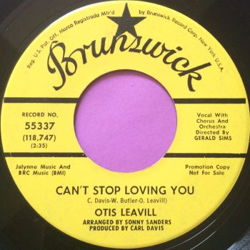Otis Leaville-Can`t stop loving you-Brunswick YD E+
