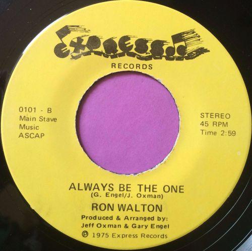 Ron Walton-Always be the one-Express E+