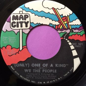 We the people-Only one of a kind-Map city E+
