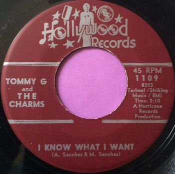 Tommy G and the Charms-I know what I want-Hollywood M-