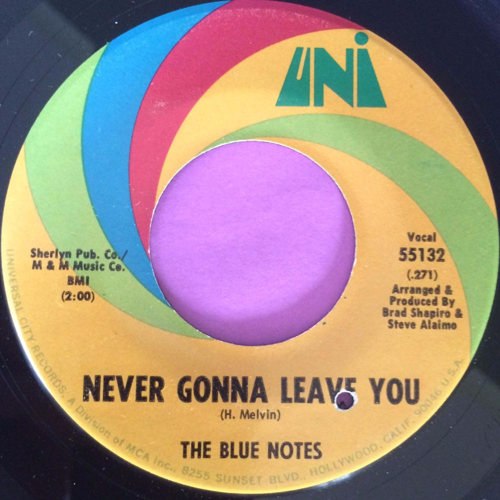 Blue Notes-Never gonna leave you-Uni E+