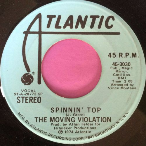 Moving Violation-Spinnin` top-Atlantic WD E+