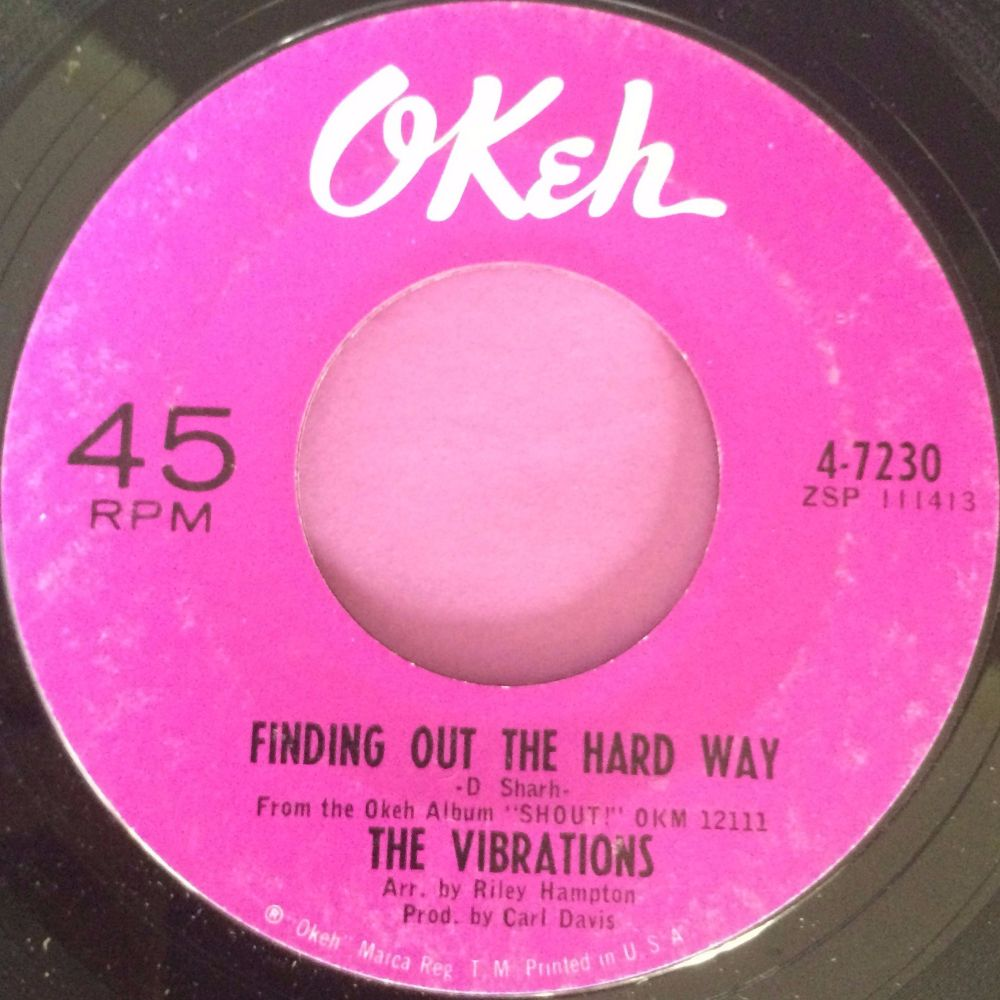 Vibrations-Finding out the hard way-Okeh M-