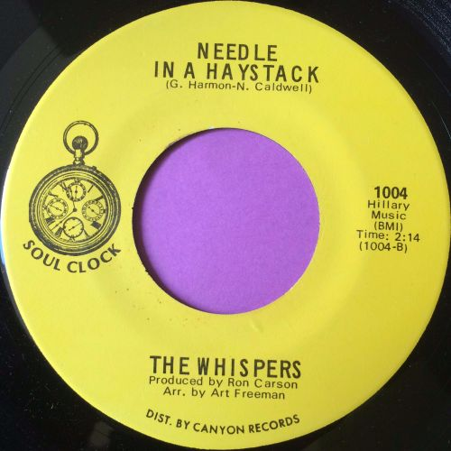 Whispers-Needle in a haystack-Soul clock M-