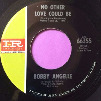Bobby Angele-No other love could be-Imperial E+