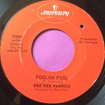 Dee Dee Warwick-Foolish fool-Mercury E+