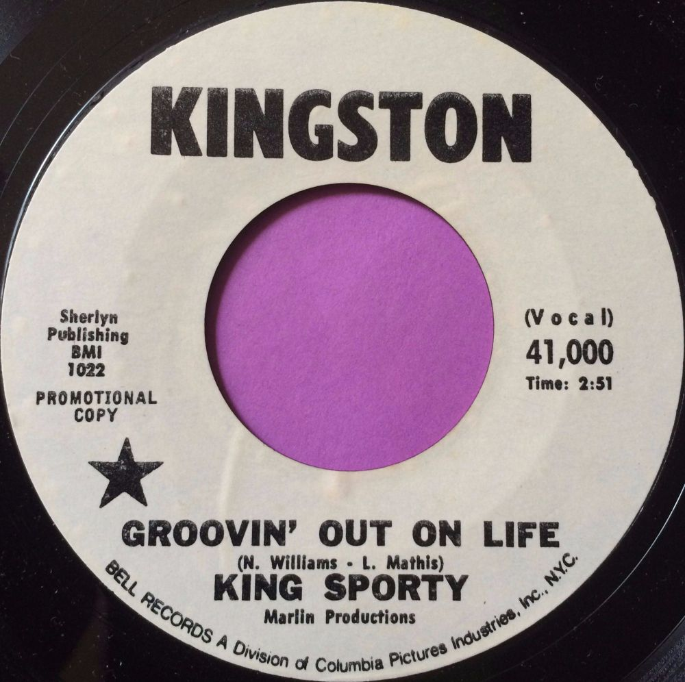 King Sporty-Groovin` out on life-Kingston WD M-