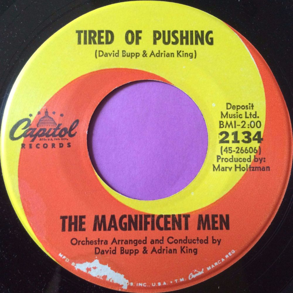 Magnificent Men-Tired of pushing- Capitol E+