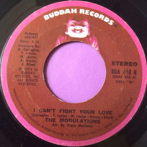 Modulations-I can`t fight your love-Buddah E+