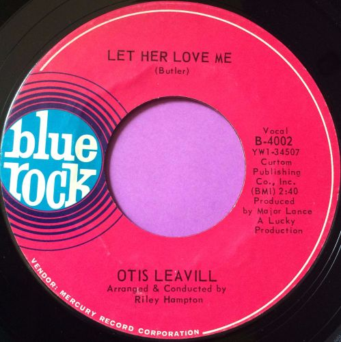 Otis Leavill-Let her love me-Blue rock M-