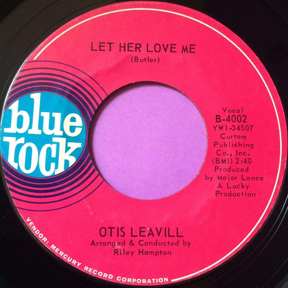Otis Leavill-Let her love me-Blue rock M-