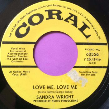 Sandra Wright-Love me love me-Coral YD E