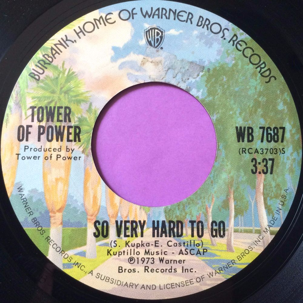 Tower of power- This time it's real- Warner E+