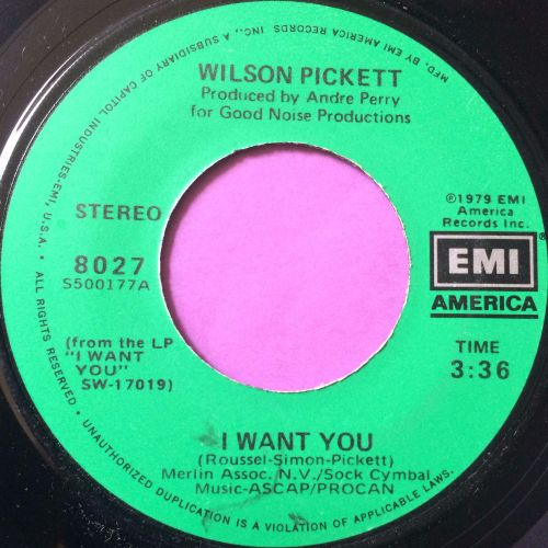 Wilson Pickett-I want you-EMI E+