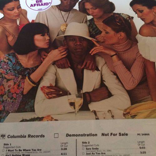 Ronnie Dyson-Love in all flavours-Columbia DEMO LP E+