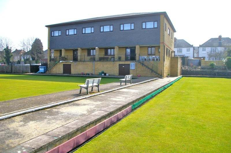 Clubhouse from the Bowling Greens