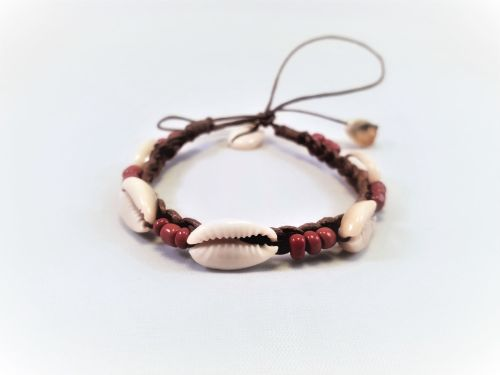 TRIBAL SHELLS BROWN