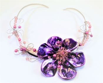 PURPLE PRINCESS: NECKLACE