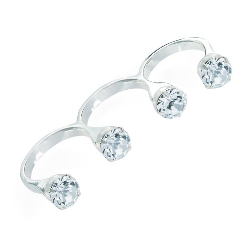 JEWELLED KNUCKLE RING