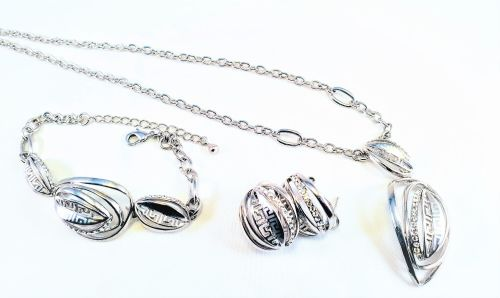 ASPEN LEAF NECKLACE SET