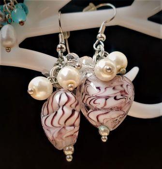 LADY AIDA SHELLS : EARRINGS