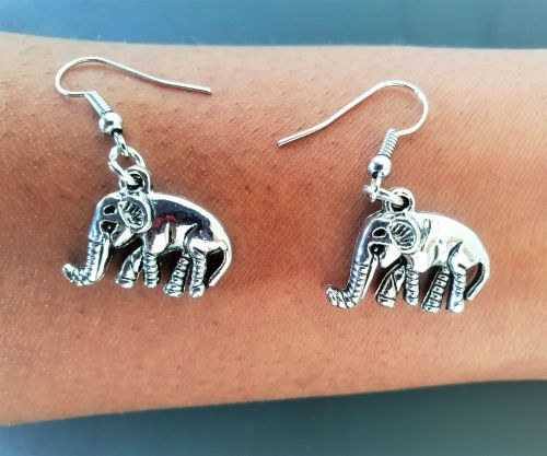 TRIBAL ELEPHANT EARRINGS