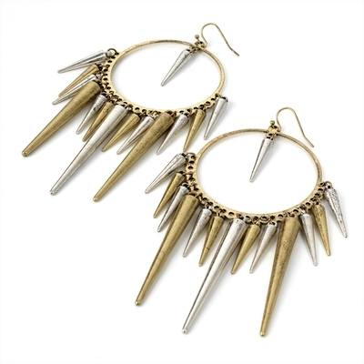 POPPII: SPIKE EARRINGS