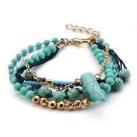 DIVA: TRIBAL BEADED BRACELET